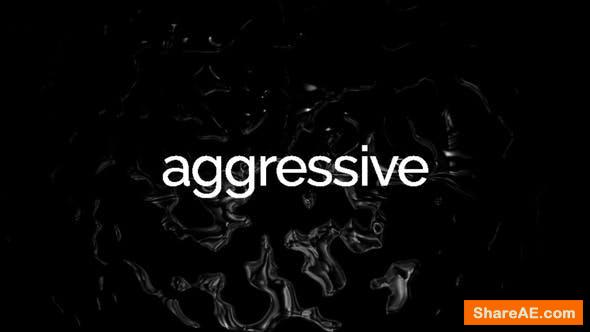 Videohive Agressive Glitch Stomp