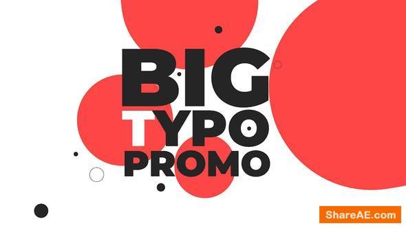 Videohive Big Typo Promo