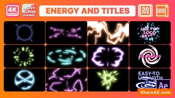 Videohive Energy And Titles | After Effects