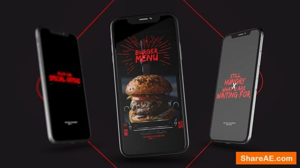 Videohive Food Delivery Instagram Promo