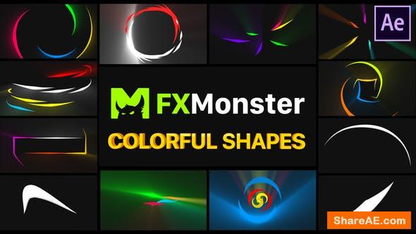 Videohive Colorful Shapes | After Effects