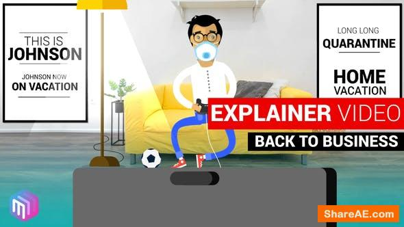 Videohive Explainer Video | Back to Business