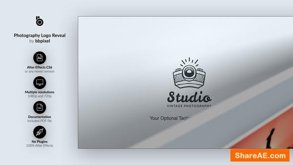 Videohive Photography Logo Reveal 26518156