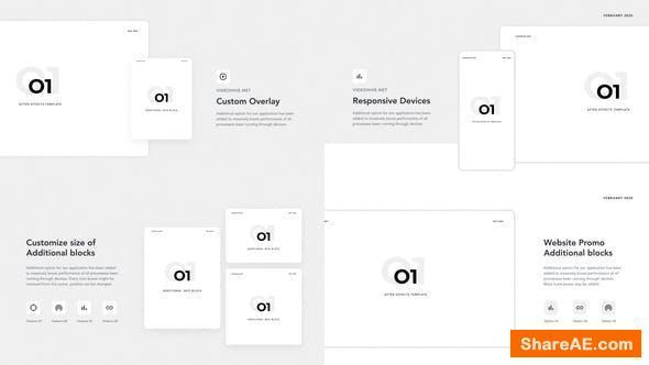 Videohive O1 - Website promo