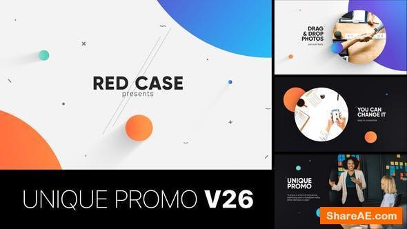 Videohive Unique Promo v26 | Corporate Presentation