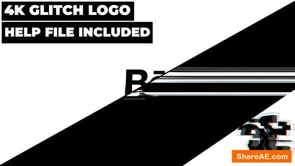 Videohive Abstract Glitch Logo Reveal 26607695