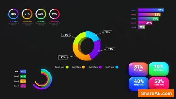 Videohive Infographic Graphs Toolkits