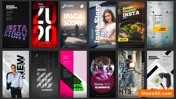 Videohive 12 Instagram Stories Vol. 9