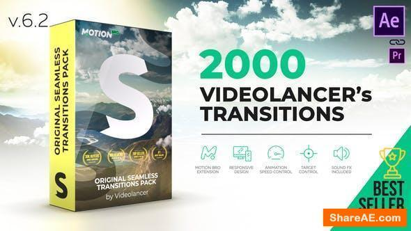 Videohive Handy Seamless Transitions | Pack & Script V6.1 [Cracked]