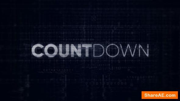 Videohive Countdown - Digital Opener