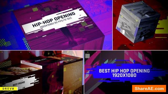 Videohive Hip-Hop Opening/ Music Intro/ Rap/ Dance/Action/ Electronic/ Party Promo/ Box/ Festival/ Glitch TV I
