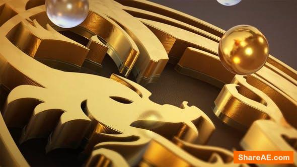Videohive Pure Gold Logo Reveal