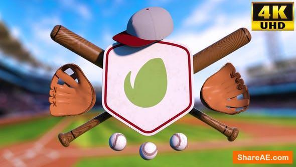 Videohive Baseball Logo Reveal Intro V1