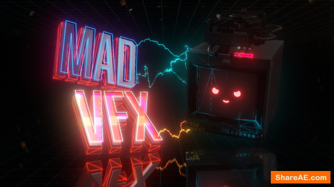 MAD VFX in After Effects (4th week and Full Course)  - Motion Design School