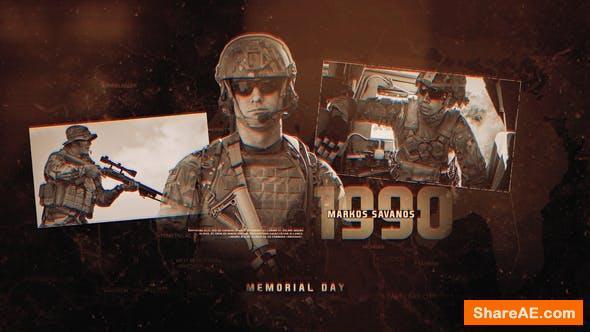 Videohive Memorial Day