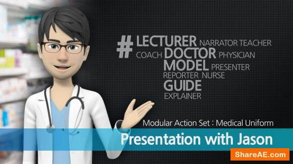 Videohive Presentation With Jason: Medical Uniform