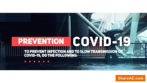 Videohive Coronavirus / Covid-19 Slideshow