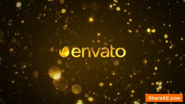 Videohive Gold Cinematic Logo
