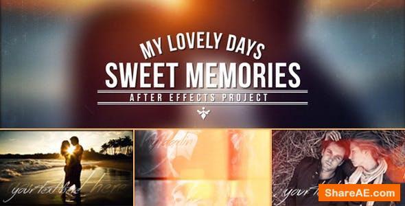 Videohive Sweet Memories 7475074