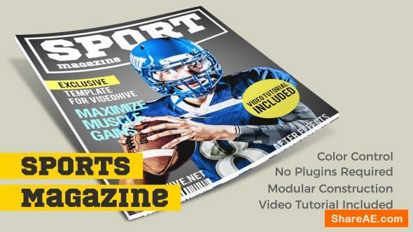 Videohive Sports Magazine