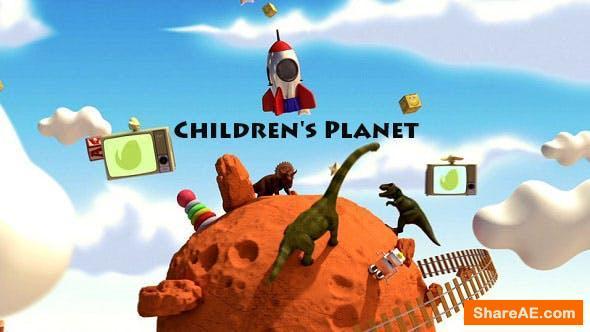 Videohive Children's Planet
