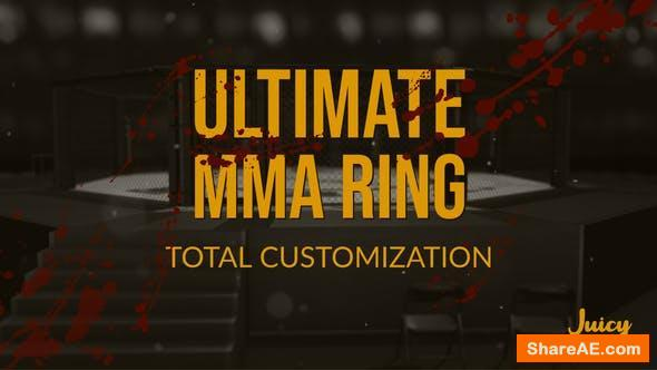 Videohive Ultimate MMA Ring