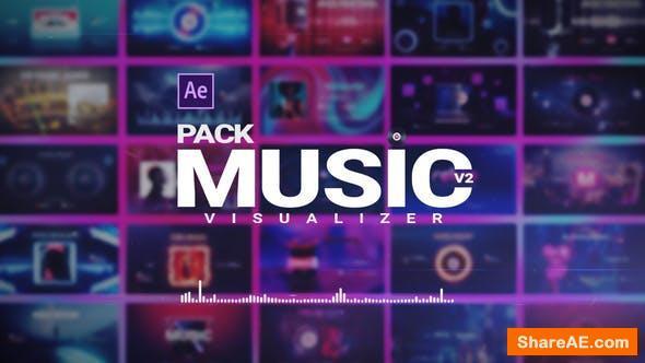 Videohive Music Visualizer Pack