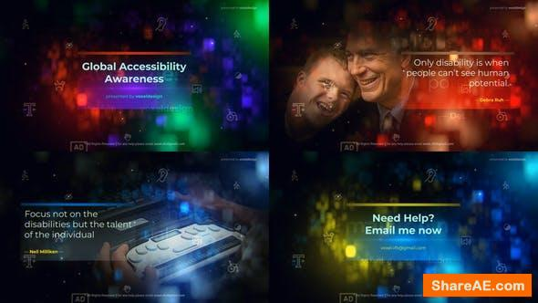 Videohive Global Accessibility Awareness Opener