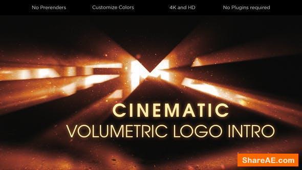 Videohive Cinematic Volumetric Logo Intro