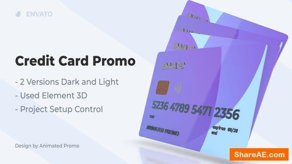 Videohive Plastic Credit Card