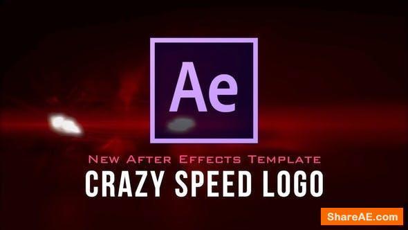 Videohive Crazy Speed Logo