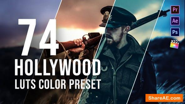 Videohive Hollywood LUT Color Grading Pack - Premiere Pro