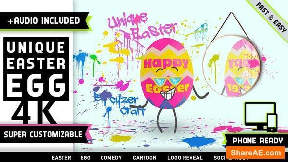 Videohive Easter Egg Logo