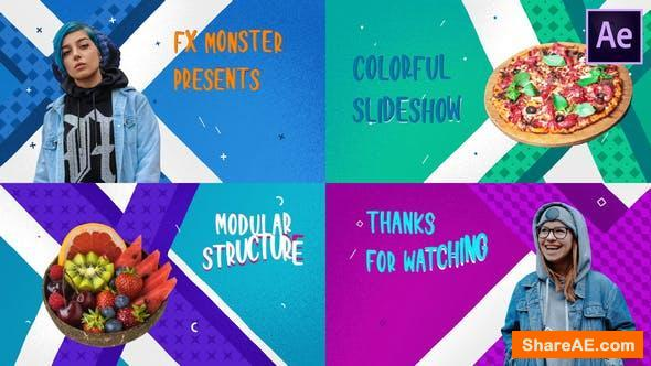 Videohive Colorful Cartoon Slideshow | After Effects