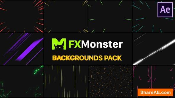 Videohive Speed Backgrounds | After Effects