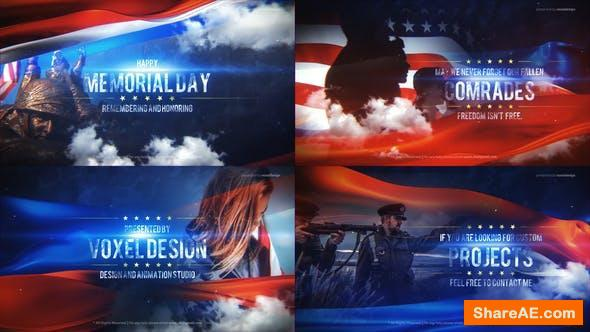 Videohive Memorial Day Title