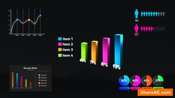 Videohive Infographic Smart Graphs
