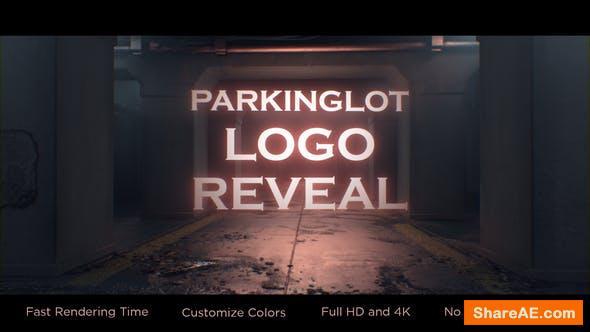 Videohive Parking-lot Logo Reveal