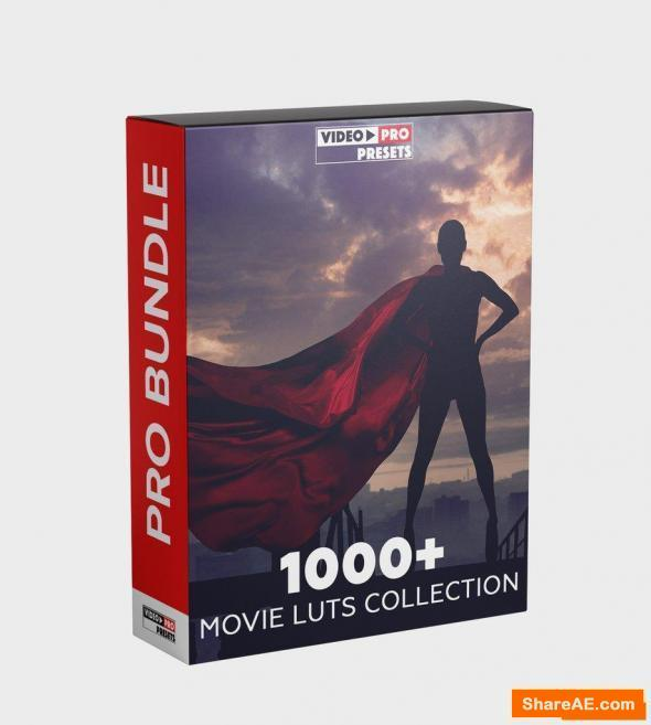 1000+ Movie Luts Collection 2000 - VideoPresets