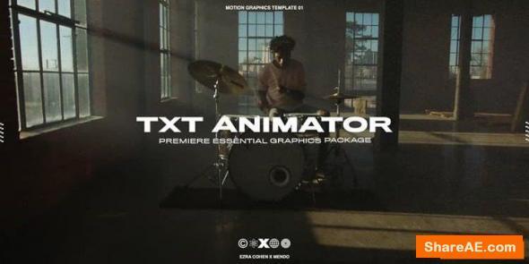 Txt Animator - Ezra Cohen