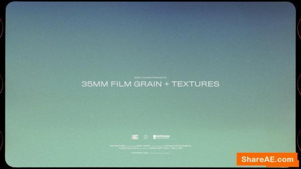 35mm Film Grain + Textures - Ezra Cohen