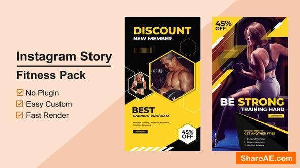 Videohive Fitness Instagram Stories V02