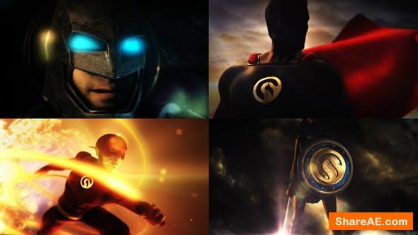 Videohive Super Epic Hero Logo