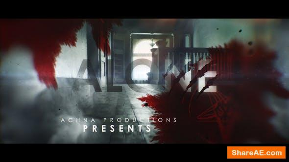 Videohive Dark And Bloody Horror Trailer