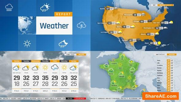 Videohive The Complete World Weather Forecast ToolKit
