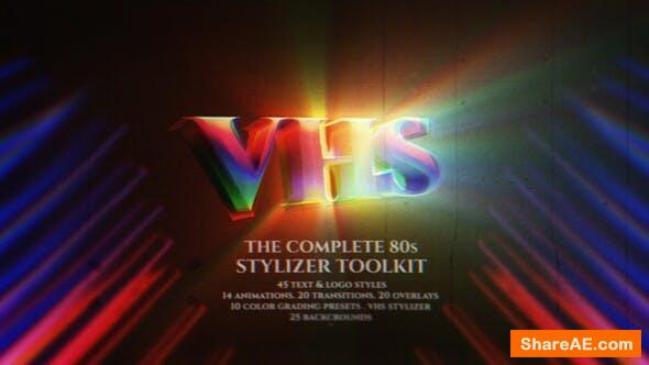 Videohive The Complete 80s Stylizer Toolkit