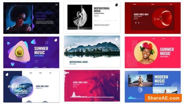 Videohive Audio Visualizations Pack