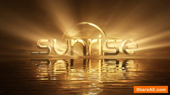 Videohive Sunrise Logo