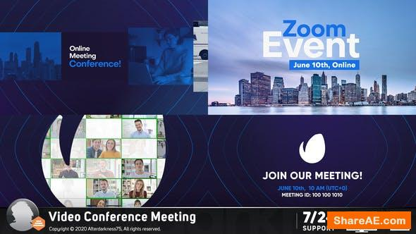 Videohive Video Conference Online Zoom Meeting