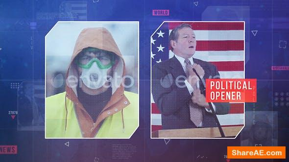 Videohive Political News Opener